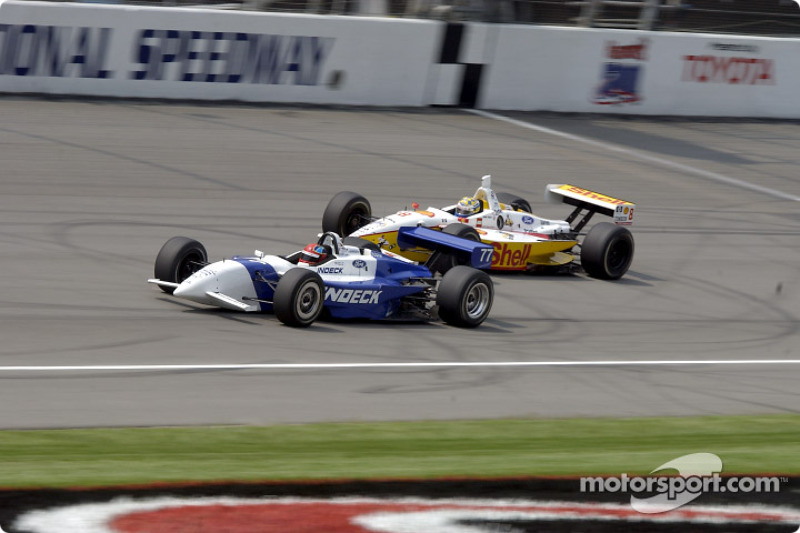 Bryan Herta and Kenny Brack