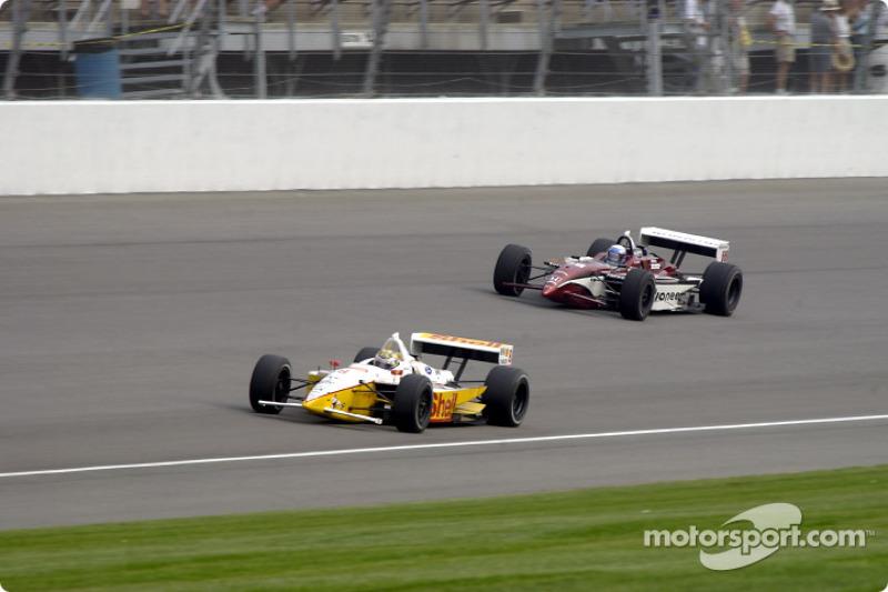 Kenny Brack and Alex Zanardi