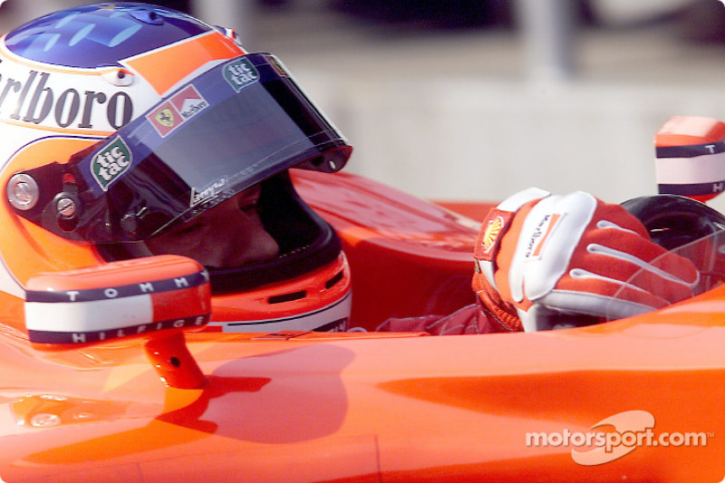Rubens Barrichello before the race