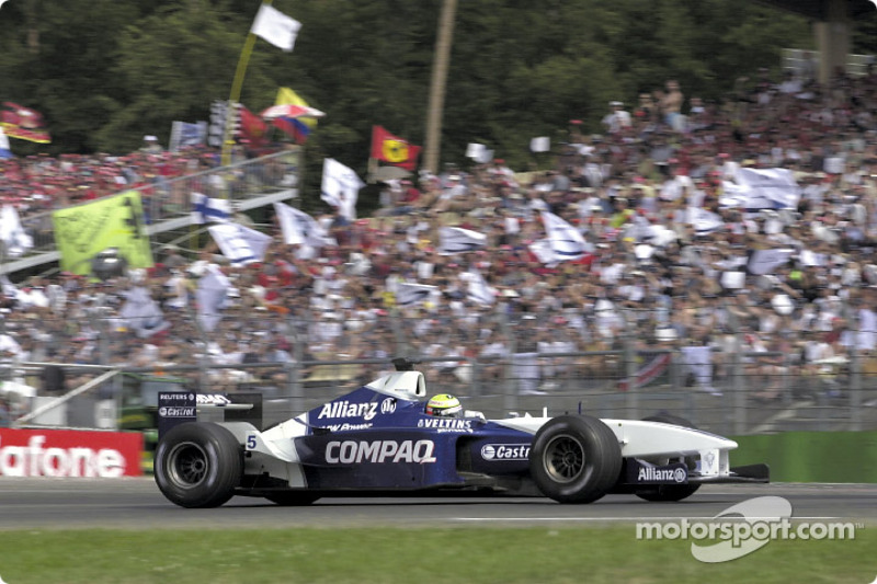2001 - Hockenheim: Ralf Schumacher, Williams-BMW FW23