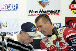 Mark Martin and Jeremy Mayfield