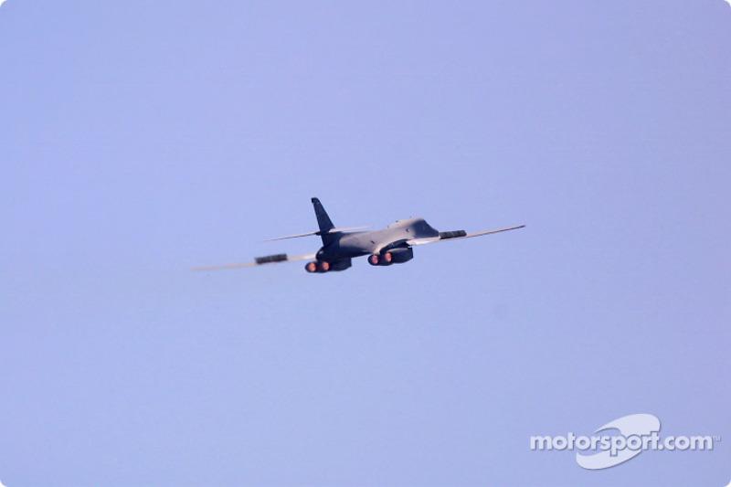 B-1 Bomber fly-over