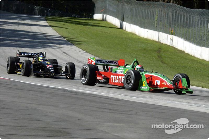 Adrian Fernandez and Cristiano da Matta