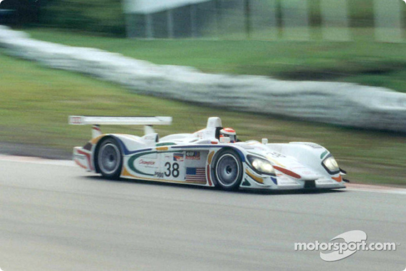 Wallace has a Panoz in his sights