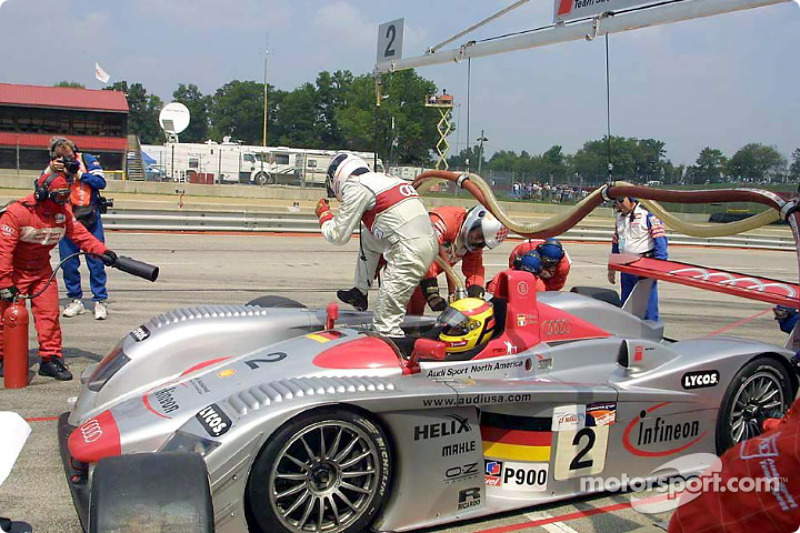 Pit stop for Audi