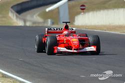 Михаэль Шумахер, Ferrari F2001