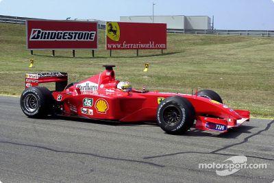 Essais Ferrari en août