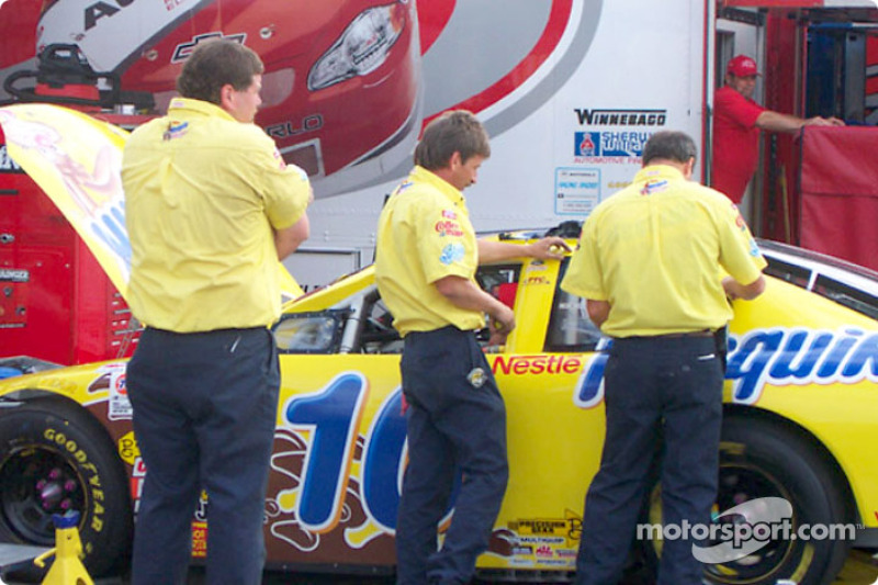 PPC Racing garage