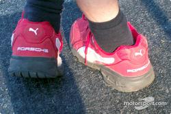 Porsche from head to toe: Alex Job Racing shoes