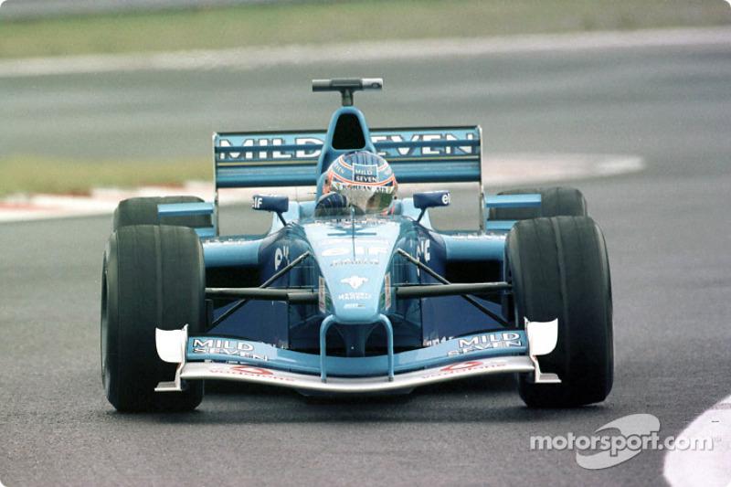 Jenson Button au GP de Belgique
