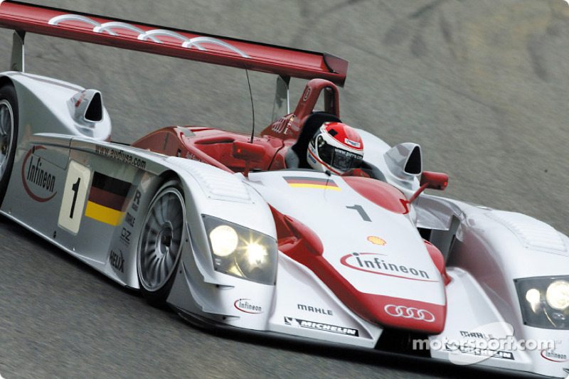 Audi R8 Infineon (2002) : Emmanuele Pirro