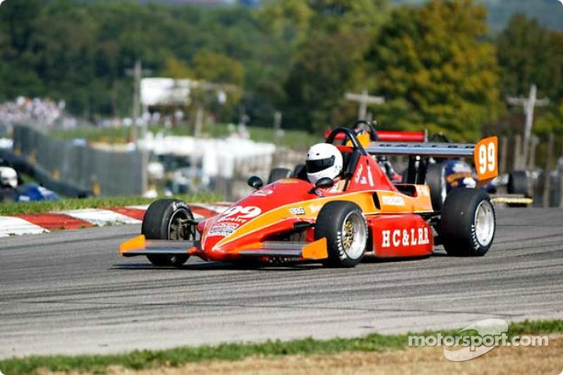 Race Formula Mazda Ken De Nault At Runoffs - Formula mazda
