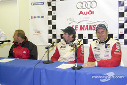 Press conference: Bill Auberlen, Boris Said III and Hans Stuck