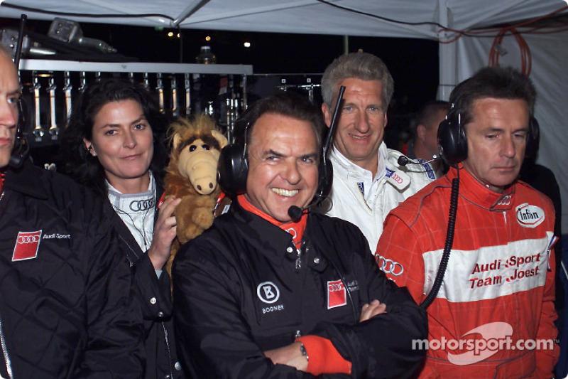 Reinhold Joest, team director Audi Sport North America