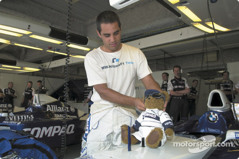 Juan Pablo Montoya and Juanito