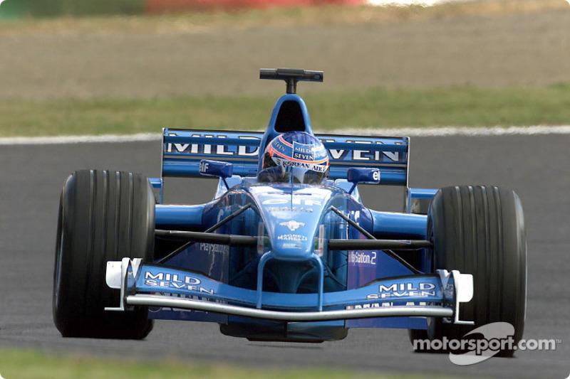 Jenson Button au GP du Japon