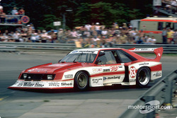 Klaus Ludwig's 1981 Miller Mustang was powered by a turbocharged, 4-cylinder engine, and SVO was able to build the car with many racing parts from Europe