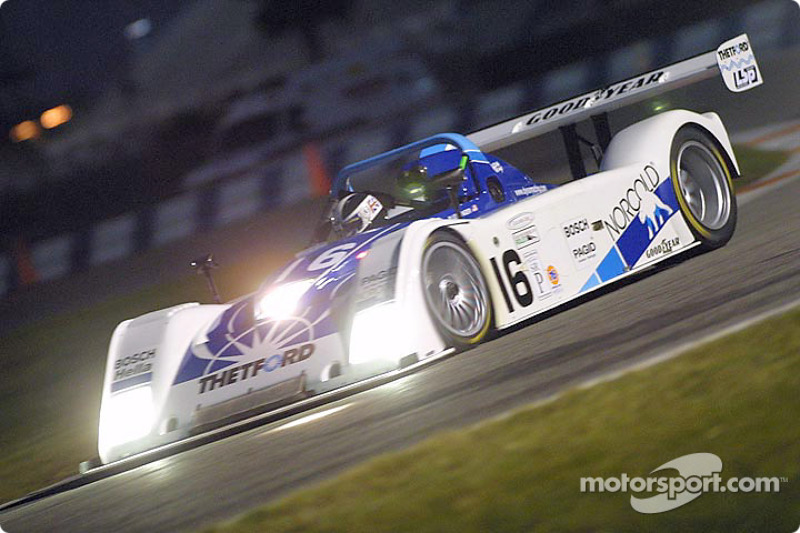 James Weaver, in the Dyson Racing Ford R&S was among the fastest in opening Rolex Series practice at Daytona