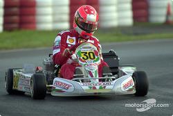 Michael Schumacher en el Campeonato Mundial de Karting en Kerpen