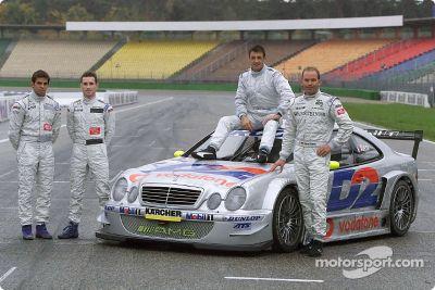 DTM-Test von Jean Alesi