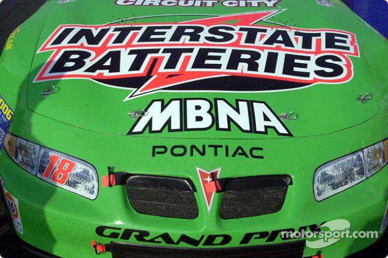 Bobby Labonte's Pontiac before the race
