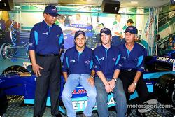 Team Sauber in Malaysia