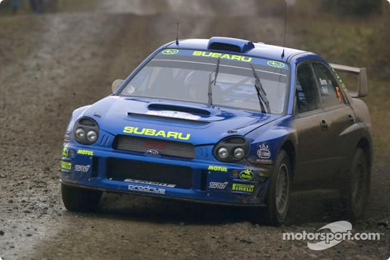 Річард Бернс, Subaru