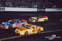 Bobby Hamilton, Dale Jarrett and Matt Kenseth
