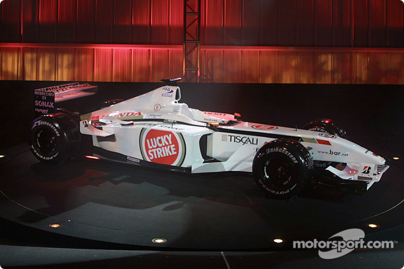 The new BAR Honda 004