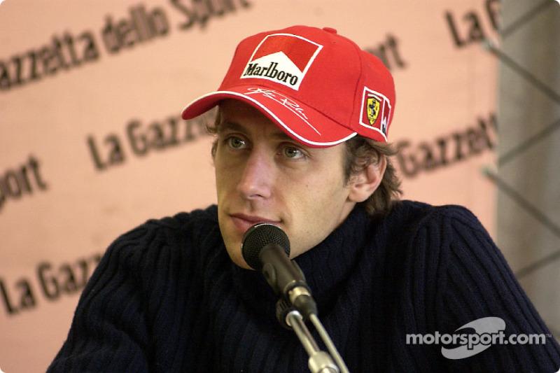 Лука Бадоер (тест-пилот Ferrari в 1998-2010 годах)