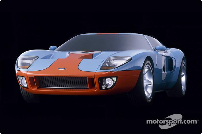 Présentation du concept Ford GT40