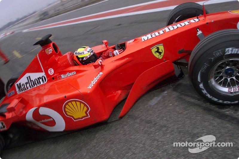 Лучано Бурті (тест-пілот Ferrari у 2002-2004 роках)