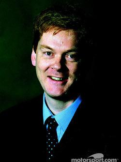Mark Handford, Chief Aerodynamicist