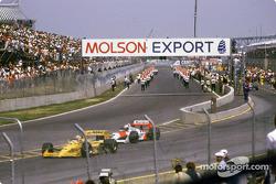 Antes del comienzo: Nelson Piquet y Alain Prost