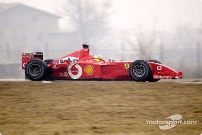 Ferrari January test sessions