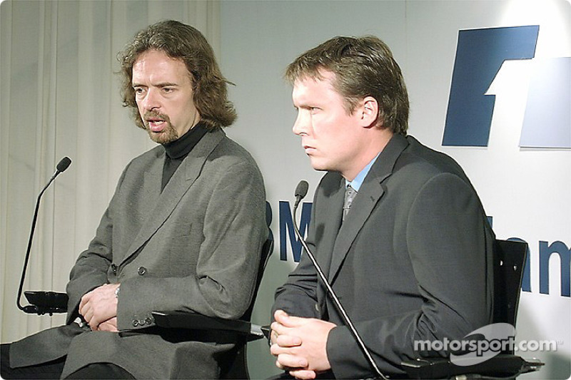 Gavin Fisher and Sam Michael
