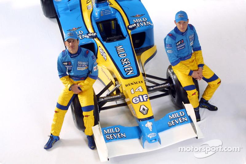 2002: Aus Benetton wird Renault