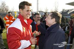 Michael Schumacher ve Jean Todt