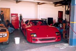 Scarlett O'Hara: Ferrari F40 Pace Car