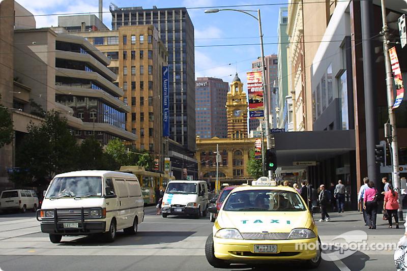 Melbourne, mardi matin