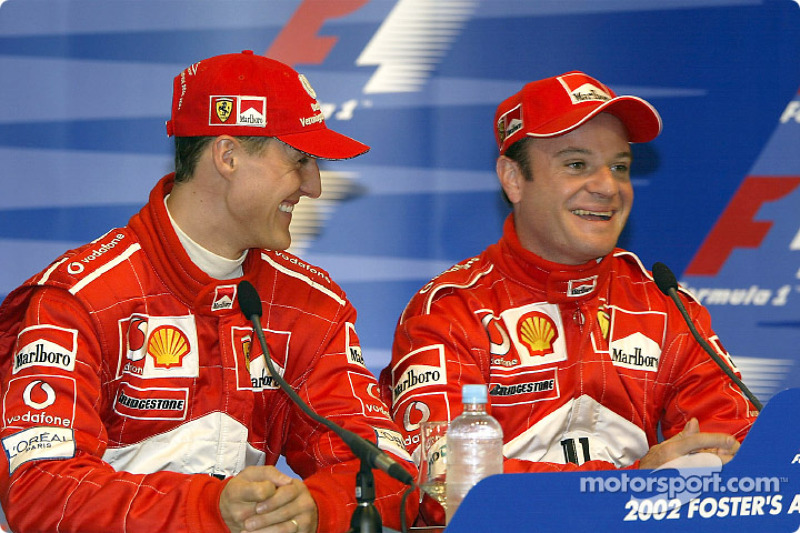 Conférence de presse : Michael Schumacher et Rubens Barrichello