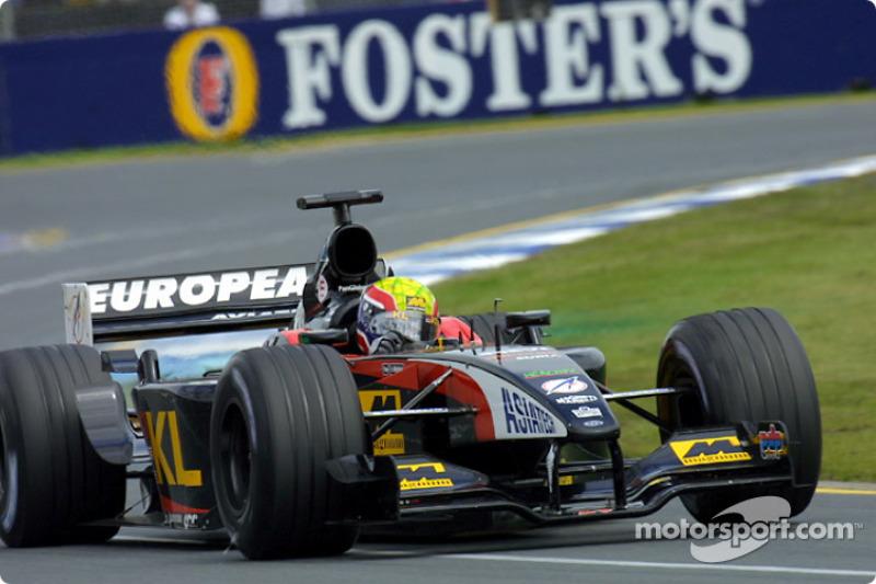 Melbourne 2002: WM-Punkte beim Formel-1-Debüt