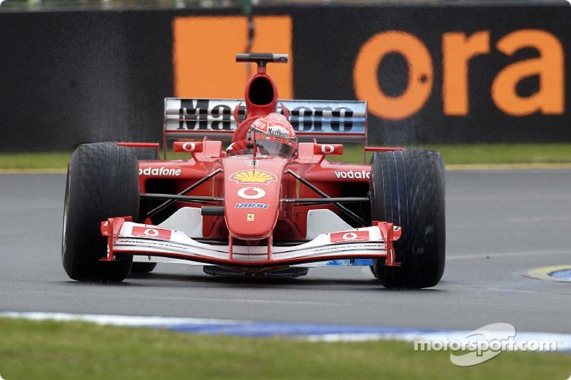 Michael Schumacher en essais libres