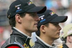Mark Webber and Alex Yoong