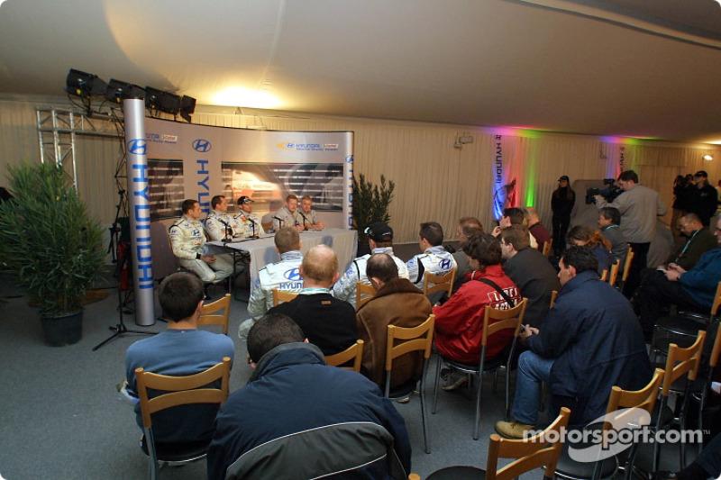 Présentation de la nouvelle Hyundai Accent WRC3