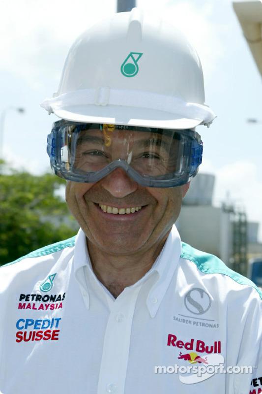 Visite du complexe pétrochimique Petronas à Kerteh : Peter Sauber