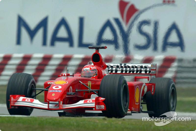 #44 GP de Malaisie 2002 (Ferrari F2002)