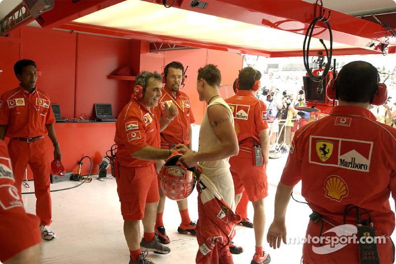 Une nouvelle pole position pour Michael Schumacher