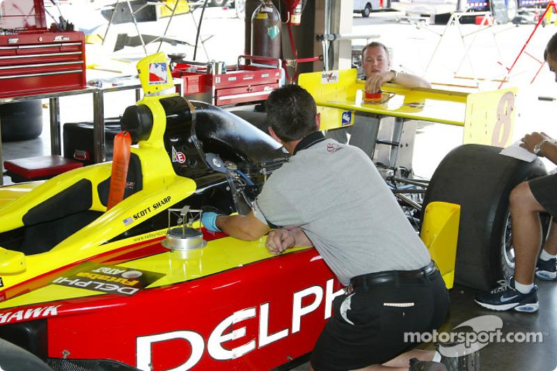 Garage du Kelley Racing