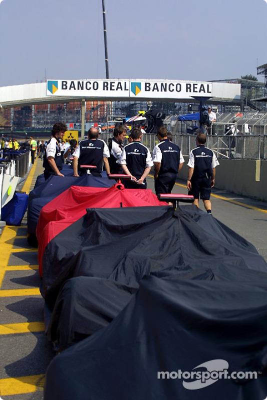 Miembros del equipo Williams-BMW
